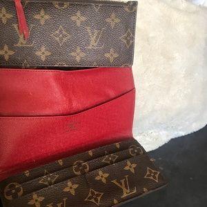 100% Authentic Louis Vuitton Josephine wallet